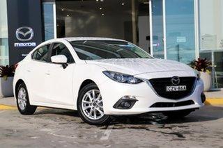 2015 Mazda 3 BM5276 Maxx SKYACTIV-MT White 6 Speed Manual Sedan.