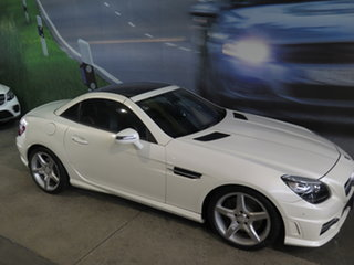2011 Mercedes-Benz SLK350 R171 MY11 White 7 Speed Automatic G-Tronic Convertible.