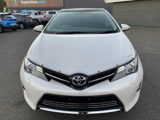 2013 Toyota Corolla ZRE182R Levin S-CVT ZR White 7 Speed Constant Variable Hatchback