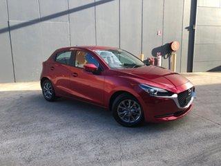 2021 Mazda 2 DJ2HAA G15 SKYACTIV-Drive Pure Soul Red Crystal 6 Speed Sports Automatic Hatchback.