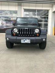 2013 Jeep Wrangler JK MY2013 Unlimited Sport Black 5 Speed Automatic Softtop.