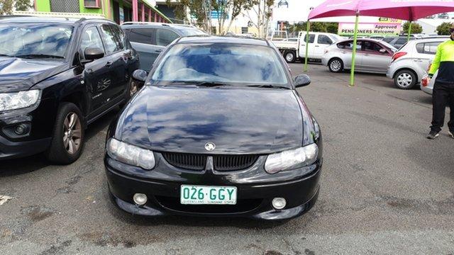 Used Holden Commodore VX SS Underwood, 2001 Holden Commodore VX SS Black 4 Speed Automatic Sedan