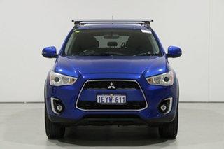 2016 Mitsubishi ASX XB MY15.5 LS (2WD) Blue Continuous Variable Wagon.