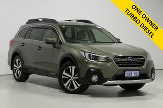 2018 Subaru Outback MY18 2.0D Premium AWD Green Continuous Variable Wagon.