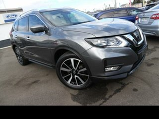 2018 Nissan X-Trail T32 Series 2 TI (4WD) Grey Continuous Variable Wagon.