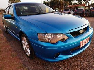 2003 Ford Falcon BA XR6 Blue 4 Speed Sports Automatic Sedan.