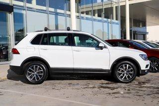 2018 Volkswagen Tiguan 5N MY18 110TDI DSG 4MOTION Comfortline White 7 Speed.