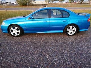 2003 Ford Falcon BA XR6 Blue 4 Speed Sports Automatic Sedan