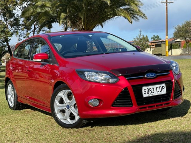 Used Ford Focus LW MkII Sport PwrShift Cheltenham, 2013 Ford Focus LW MkII Sport PwrShift Red 6 Speed Sports Automatic Dual Clutch Hatchback