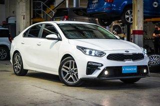 2018 Kia Cerato BD MY19 Sport+ White 6 Speed Sports Automatic Sedan.