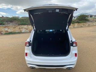 2020 Ford Escape ZH 2021.25MY Vignale AWD White 8 Speed Sports Automatic SUV