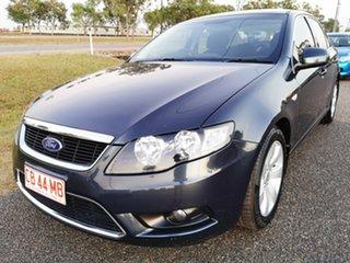 2011 Ford Falcon FG G6 Grey 6 Speed Sports Automatic Sedan.