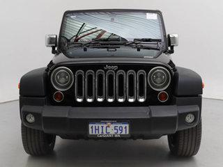 2013 Jeep Wrangler JK MY13 Sport (4x4) Black 6 Speed Manual Softtop.
