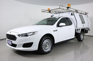 2016 Ford Falcon FG X (LPi) White 6 Speed Automatic Cab Chassis.
