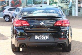 2014 Holden Commodore VF MY15 SV6 Black 6 Speed Automatic Sedan