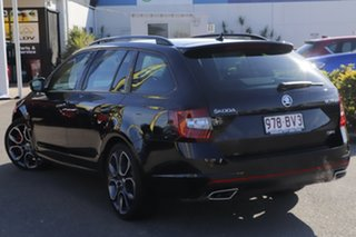 2019 Skoda Octavia NE MY20 RS DSG 245 Black Pearl 7 Speed Sports Automatic Dual Clutch Wagon.