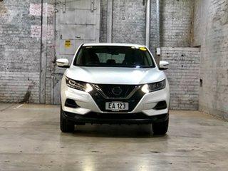 2017 Nissan Qashqai J11 Series 2 ST X-tronic White 1 Speed Constant Variable Wagon.