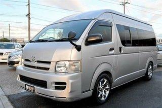2006 Toyota HiAce TRH221K DX Silver 4 Speed Automatic Van