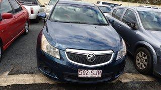 2012 Holden Cruze JH MY12 CD Grey 6 Speed Automatic Sedan