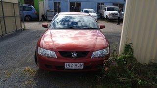 2002 Holden Commodore Red Sedan