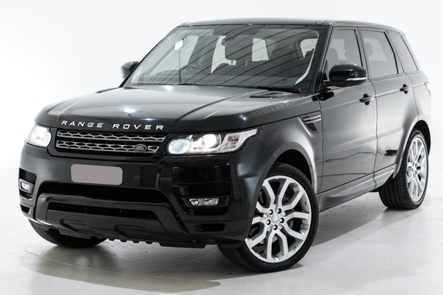 Used Land Rover Range Rover Sport L494 MY14 SE Berwick, 2013 Land Rover Range Rover Sport L494 MY14 SE Black 8 Speed Sports Automatic Wagon