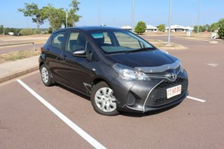 2016 Toyota Yaris NCP130R Ascent Graphite 4 Speed Automatic Hatchback.