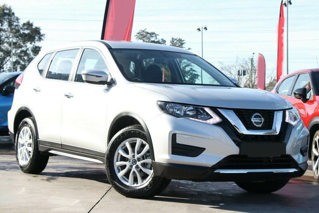 New Nissan X-Trail T32 MY21 ST X-tronic 4WD Castle Hill, 2021 Nissan X-Trail T32 MY21 ST X-tronic 4WD Brilliant Silver 7 Speed Constant Variable Wagon