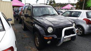 2004 Jeep Cherokee Black Wagon