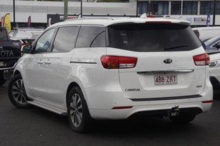 2016 Kia Carnival YP MY16 SLi White 6 Speed Sports Automatic Wagon.