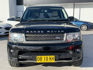 2009 Land Rover Range Rover Sport L320 10MY Super Charged Black 6 Speed Sports Automatic Wagon