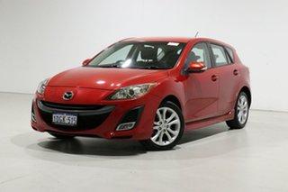 2009 Mazda 3 BL SP25 Red 6 Speed Manual Hatchback.