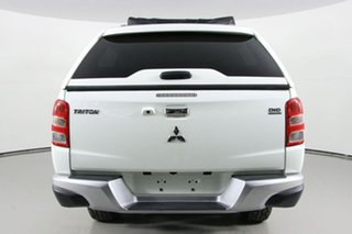 2016 Mitsubishi Triton MQ MY16 Upgrade GLS (4x4) White 6 Speed Manual Dual Cab Utility