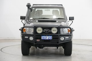 2019 Toyota Landcruiser VDJ79R GXL Double Cab Graphite 5 Speed Manual Cab Chassis.