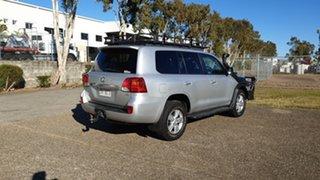 2014 Toyota Landcruiser VDJ200R Altitude (4x4) Silver 6 Speed Automatic Wagon.