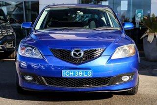 2007 Mazda 3 BK10F2 Maxx Sport Blue 5 Speed Manual Hatchback