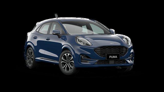 New Ford Puma JK ST-Line Hamilton, 2021 Ford Puma JK ST-Line Blazer Blue 7 Speed Automatic
