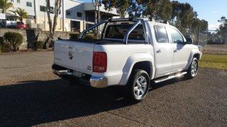2013 Volkswagen Amarok 2H MY12.5 TDI420 Highline (4x4) White 8 Speed Automatic Dual Cab Utility.