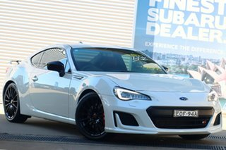 2018 Subaru BRZ MY18 TS Crystal White 6 Speed Manual Coupe.
