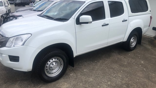 Used Isuzu D-MAX MY15 SX Crew Cab 4x2 High Ride Moorooka, 2016 Isuzu D-MAX MY15 SX Crew Cab 4x2 High Ride 527 5 Speed Sports Automatic Cab Chassis