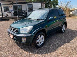 2001 Toyota RAV4 Cruiser Green 4 Speed Auto Active Select Wagon.