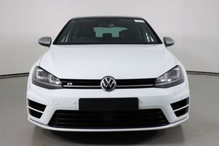 2017 Volkswagen Golf AU MY17 R White 6 Speed Direct Shift Hatchback.
