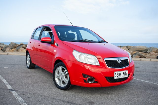 Used Holden Barina TK MY11 Lonsdale, 2010 Holden Barina TK MY11 Red 4 Speed Automatic Hatchback