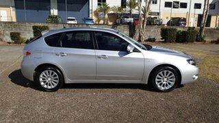 2008 Subaru Impreza MY09 RX (AWD) Silver 4 Speed Automatic Hatchback.