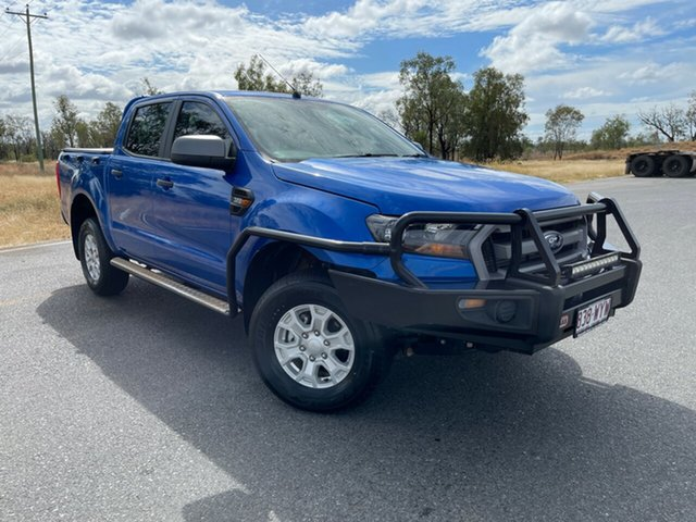 Used Ford Ranger PX MkII XLS Double Cab Emerald, 2017 Ford Ranger PX MkII XLS Double Cab Winning Blue 6 Speed Sports Automatic Utility