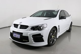 2015 Holden Special Vehicles GTS Gen F2 White 6 Speed Auto Active Sequential Sedan.