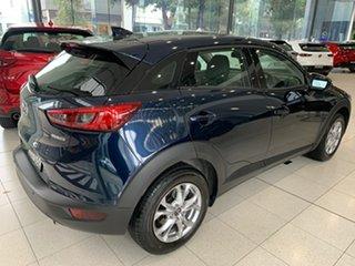 2020 Mazda CX-3 DK2W7A Maxx SKYACTIV-Drive FWD Sport Deep Crystal Blue 6 Speed Sports Automatic.