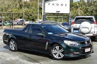 2013 Holden Ute VF SV6 Green 6 Speed Automatic Utility.