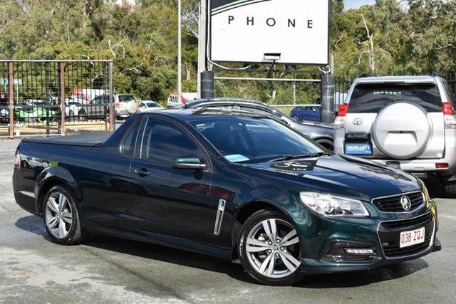 Used Holden Ute VF SV6 Underwood, 2013 Holden Ute VF SV6 Green 6 Speed Automatic Utility