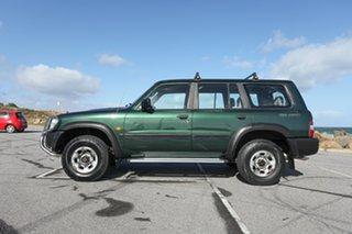 1998 Nissan Patrol GU ST Green 5 Speed Manual Wagon