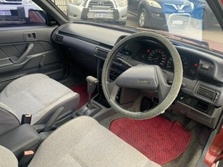 1988 Toyota Camry SV21 CS Red 4 Speed Automatic Sedan